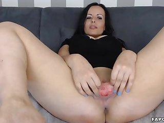 Hot Naughty Milf Bitch Fingers And Fucks Herself