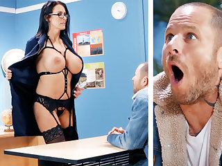 Sexy cram hardcore fucks schoolboy at teacher