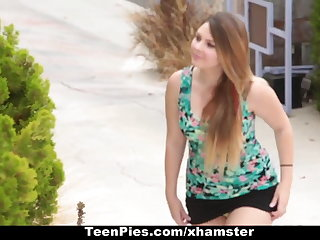 TeenPies - Creampied By Her Best Suite Dad