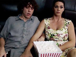 Horny milf wear dim stepson's dick apropos cinema
