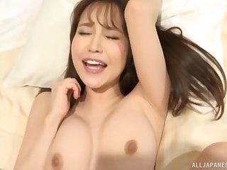 Hardcore pussy licking and cock sucking with a Japanese couple