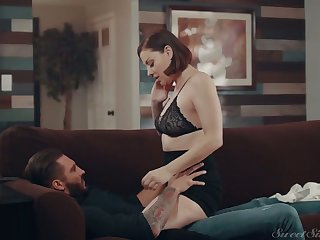 Tattooed seductress Sovereign Syre rides a dick together with gets doggy fucked