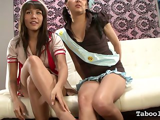 Crabby Zareena Baz is more than ready to share dick for a good blowjob