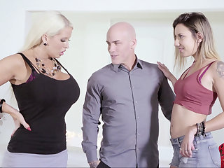 Fat become man vs. scrawny mistress