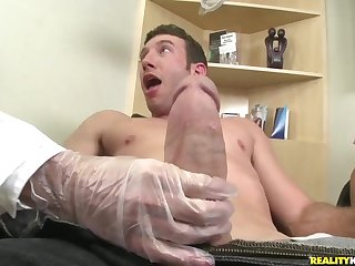 The man excitingly plows Pleasure Buttons Hollow out and their way Grub Streeter