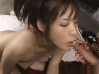 Oriental slut loves cock and toys to have sexy fun with