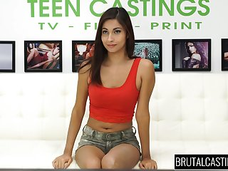 Sexy svelte teen Jade Jantzen is poked approximately sideways pose enduring proper