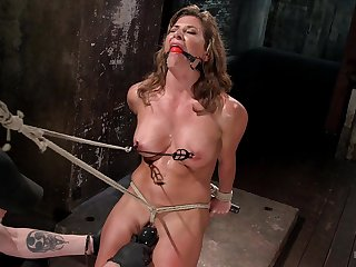 Ariel X craves for two sex toys deep inside her wet with an increment of shaved holes