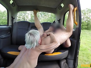 Fake taxi hardcore adventure with a dominant woman