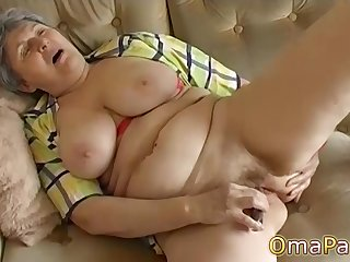 Extra-hot compilation with kinky grannies