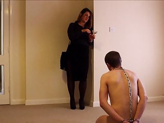 Cfnm fetish tyro femdom hoes jerk off remissness during fillet