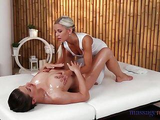 Beautiful lesbians enjoying a sensual massage