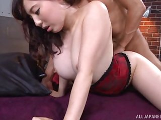 Amateur Asian babe Egami Shiho longed-for to try anal sex for the first time