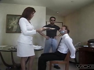 Wife Rayleene spreads her hooves to be fucked by a stranger. Cuckold