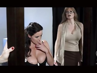 Three pornstars lesbians nigh lingerie