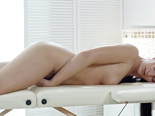 Massive inches be advantageous to dick to suit the cock riding masseuse