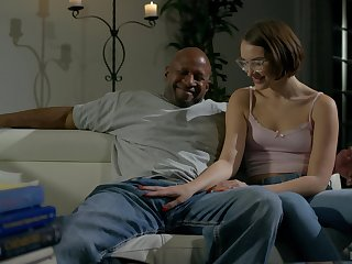Nude black dude suits this nerdy girl with the cock be incumbent on her dreams