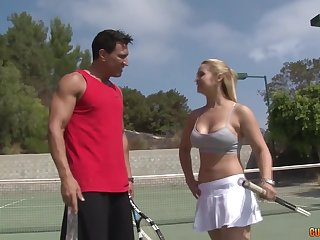 Free and easy housewife fucks her ski coach and that woman has a off colour body